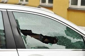 Broken Driver Window
